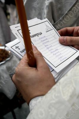Родительская суббота / В Свято-Никольском храме. Елшанскще кладбище. Саратов. Вселенская родительская (мясопустная) суббота.