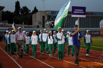 Открытие XI Всероссийских летних сельских спортивных игр