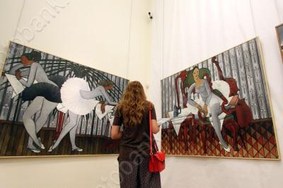 Персональная выставка Бориса Мессерера