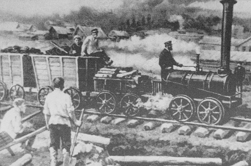 Развитие железных дорог в россии история реферат