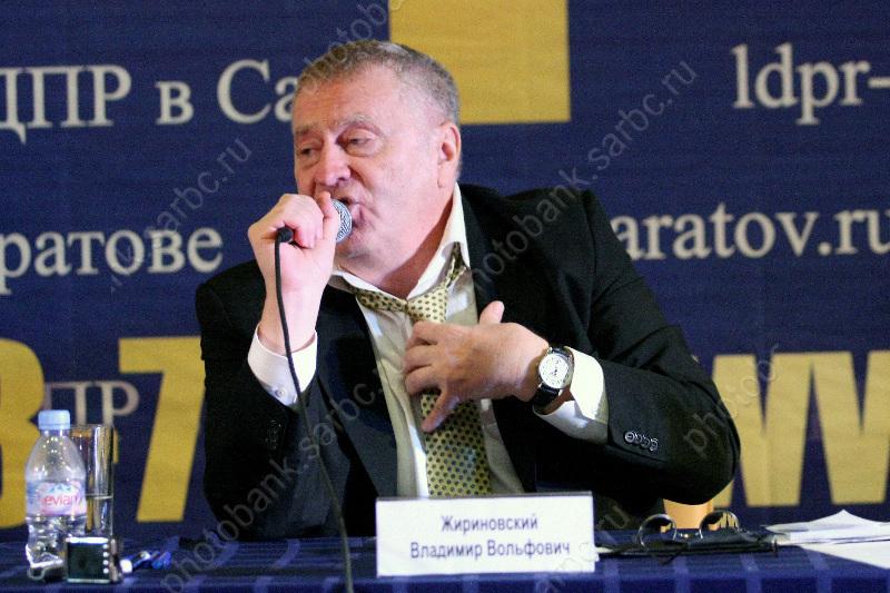 ЛДПР Саратов Последние новости на тему ЛДПР  Лидер ЛДПР Владимир Жириновский в Саратове