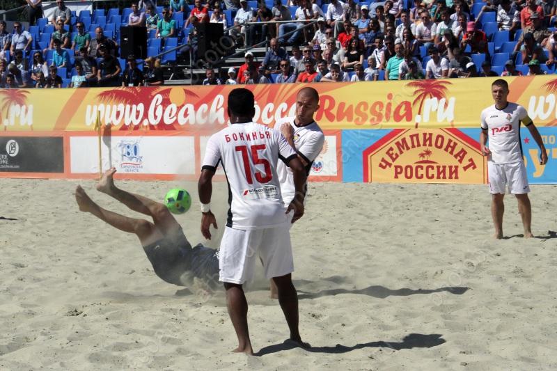 Завтра вСаратове стартует этап чемпионата Российской Федерации попляжному футболу