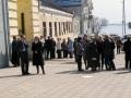Обнаружение подозрительного свертка около музея краеведения. Саратов, Музейная площадь.