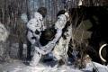 ОМОН ГУ МВД по Саратовской области провел плановую тренировку. Отрабатывалось отражение нападения на колонну.  Дубки, Саратовский район.